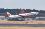 じゃまちゃんさんが、成田国際空港で撮影したマリンド・エア 737-9GP/ERの航空フォト(写真)