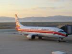 さとうさんが、関西国際空港で撮影した日本トランスオーシャン航空 737-446の航空フォト(写真)