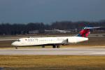 天空の鳩さんが、デトロイト・メトロポリタン・ウェイン・カウンティ空港で撮影したデルタ航空 717-2BDの航空フォト(写真)