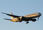 長月ぽっぷさんが、成田国際空港で撮影したシンガポール航空 777-312の航空フォト(写真)