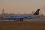 gomaさんが、ミュンヘン・フランツヨーゼフシュトラウス空港で撮影したルフトハンザドイツ航空 A320-214の航空フォト(写真)