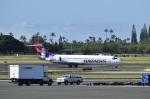 unknownさんが、ホノルル国際空港で撮影したハワイアン航空 717-22Aの航空フォト(写真)