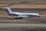ぽんさんが、羽田空港で撮影した海上保安庁 G-V Gulfstream Vの航空フォト(写真)