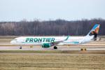 天空の鳩さんが、デトロイト・メトロポリタン・ウェイン・カウンティ空港で撮影したフロンティア航空 A321-211の航空フォト(写真)