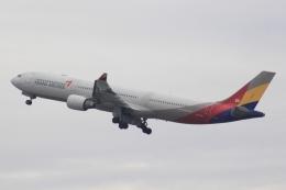 Semirapidさんが、関西国際空港で撮影したアシアナ航空 A330-323Xの航空フォト(写真)