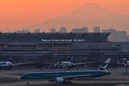 tsubasa0423さんが、羽田空港で撮影したキャセイパシフィック航空 777-367/ERの航空フォト(写真)