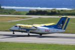 おっしーさんが、新石垣空港で撮影した琉球エアーコミューター DHC-8-103 Dash 8の航空フォト(写真)