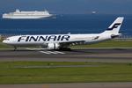 つみネコ♯2さんが、中部国際空港で撮影したフィンエアー A330-302Xの航空フォト(写真)