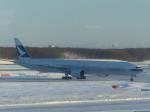 Snow manさんが、新千歳空港で撮影したキャセイパシフィック航空 777-367の航空フォト(写真)