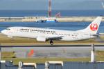 アボさんが、那覇空港で撮影した日本トランスオーシャン航空 737-4Q3の航空フォト(写真)