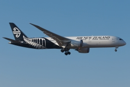 木人さんが、成田国際空港で撮影したニュージーランド航空 787-9の航空フォト(写真)