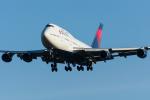 Tomo-Papaさんが、成田国際空港で撮影したデルタ航空 747-451の航空フォト(写真)