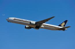 saoya_saodakeさんが、成田国際空港で撮影したシンガポール航空 777-312の航空フォト(写真)