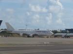 今ちゃんさんが、台湾桃園国際空港で撮影したオリエント・タイ航空 747-441の航空フォト(写真)
