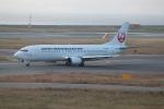 職業旅人さんが、関西国際空港で撮影した日本トランスオーシャン航空 737-446の航空フォト(写真)