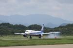 Maestroさんが、秋田空港で撮影した全日空 767-381の航空フォト(写真)