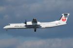 よっしぃさんが、伊丹空港で撮影した日本エアコミューター DHC-8-402Q Dash 8の航空フォト(写真)