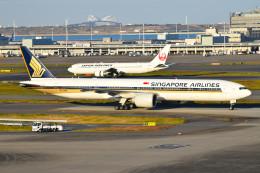 turenoアカクロさんが、羽田空港で撮影したシンガポール航空 777-312/ERの航空フォト(写真)