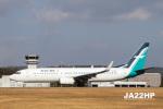 JA22HPさんが、広島空港で撮影したシルクエア 737-8SAの航空フォト(写真)