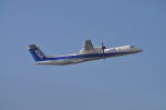 とっちさんが、中部国際空港で撮影したANAウイングス DHC-8-402Q Dash 8の航空フォト(写真)