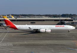 NINEJETSさんが、成田国際空港で撮影したイベリア航空 A340-642Xの航空フォト(写真)