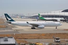 Semirapidさんが、関西国際空港で撮影したキャセイパシフィック航空 A330-343Xの航空フォト(写真)
