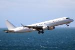 なごやんさんが、中部国際空港で撮影したアメリカ個人所有 ERJ-190-100 ECJ (Lineage 1000)の航空フォト(写真)