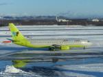 Snow manさんが、新千歳空港で撮影したジンエアー 737-86Nの航空フォト(写真)