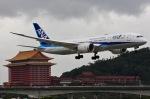 KAW-YGさんが、台北松山空港で撮影した全日空 787-881の航空フォト(写真)