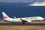 non-nonさんが、羽田空港で撮影した日本航空 737-846の航空フォト(写真)