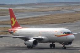 Semirapidさんが、関西国際空港で撮影した天津航空 A320-232の航空フォト(写真)