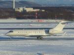 Snow manさんが、新千歳空港で撮影したユタ銀行 BD-700 Global Express/5000/6000の航空フォト(写真)