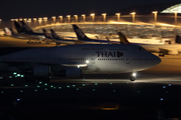 Koenig117さんが、関西国際空港で撮影したタイ国際航空 747-4D7の航空フォト(写真)