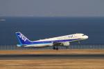 non-nonさんが、羽田空港で撮影した全日空 A320-211の航空フォト(写真)