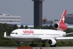 senyoさんが、成田国際空港で撮影したスイス航空 MD-11の航空フォト(写真)