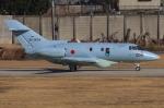 まんぼ しりうすさんが、名古屋飛行場で撮影した航空自衛隊 U-125A(Hawker 800)の航空フォト(写真)