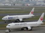 今ちゃんさんが、羽田空港で撮影した日本航空 767-346/ERの航空フォト(写真)