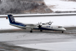 Polarisさんが、秋田空港で撮影したANAウイングス DHC-8-402Q Dash 8の航空フォト(写真)