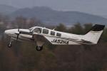 ぽんさんが、高松空港で撮影した本田航空 Baron G58の航空フォト(写真)