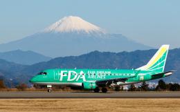 PIANOMAN777さんが、静岡空港で撮影したフジドリームエアラインズ ERJ-170-100 SU (ERJ-170SU)の航空フォト(写真)