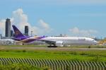 amagoさんが、成田国際空港で撮影したタイ国際航空 777-3AL/ERの航空フォト(写真)