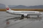 ピーチさんが、岡山空港で撮影した日本トランスオーシャン航空 737-4Q3の航空フォト(写真)