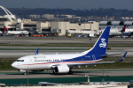 LAX Spotterさんが、ロサンゼルス国際空港で撮影した華龍航空 737-7CG BBJの航空フォト(写真)