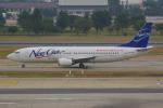 PASSENGERさんが、ドンムアン空港で撮影したニューゲン・エアウェイズ 737-4Q3の航空フォト(写真)