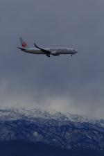 もっちみずさんが、小松空港で撮影した日本航空 737-846の航空フォト(写真)