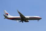 ★azusa★さんが、シンガポール・チャンギ国際空港で撮影したマレーシア航空 737-8FZの航空フォト(写真)