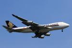 ★azusa★さんが、シンガポール・チャンギ国際空港で撮影したシンガポール航空カーゴ 747-412F/SCDの航空フォト(写真)