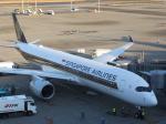 パピヨンさんが、羽田空港で撮影したシンガポール航空 A350-941XWBの航空フォト(写真)