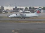 パピヨンさんが、トロント・ピアソン国際空港で撮影したエア・カナダ ジャズ DHC-8-102 Dash 8の航空フォト(写真)