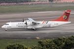 RJFT Spotterさんが、台北松山空港で撮影したトランスアジア航空 ATR-72-500 (ATR-72-212A)の航空フォト(写真)